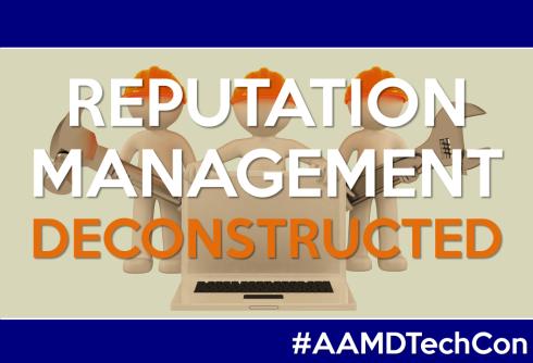 SFR - AAMD Reputation Management Deconstructed